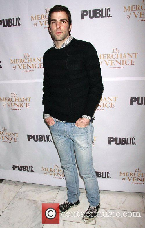 Zachary Quinto, Celebration and The Merchant Of Venice 1