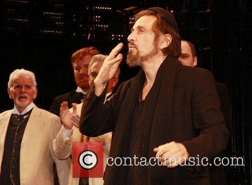 Al Pacino and cast Opening night celebration of...