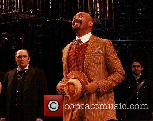 Jesse L. Martin Opening night celebration of The...