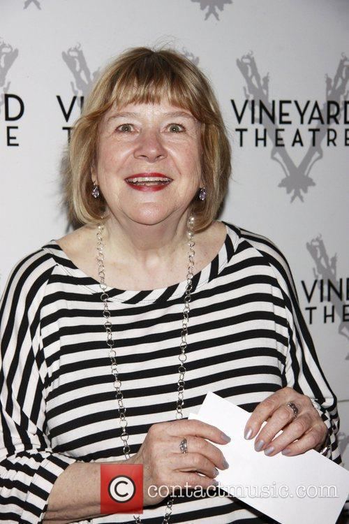 Marylouise Burke The opening of the Off-Broadway production...