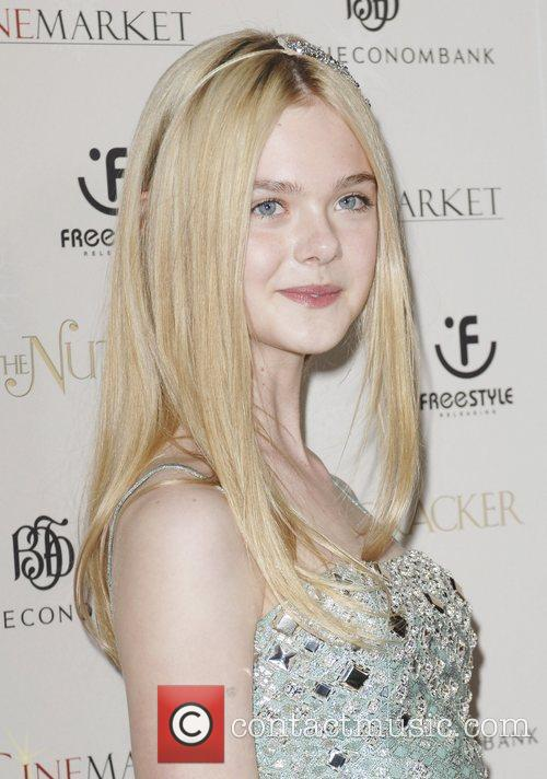 Elle Fannigan World Premiere of 'The Nutcracker 3D'...