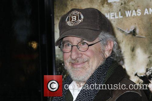 Executive Producer Steven Spielberg Los Angeles Premiere of...