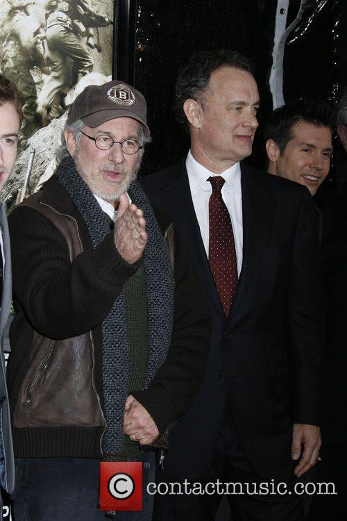 Executive Producer Steven Spielberg and Executive Producer Tom...