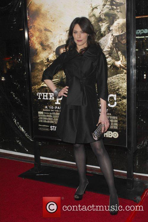 Michelle Forbes Los Angeles Premiere of HBO's new...