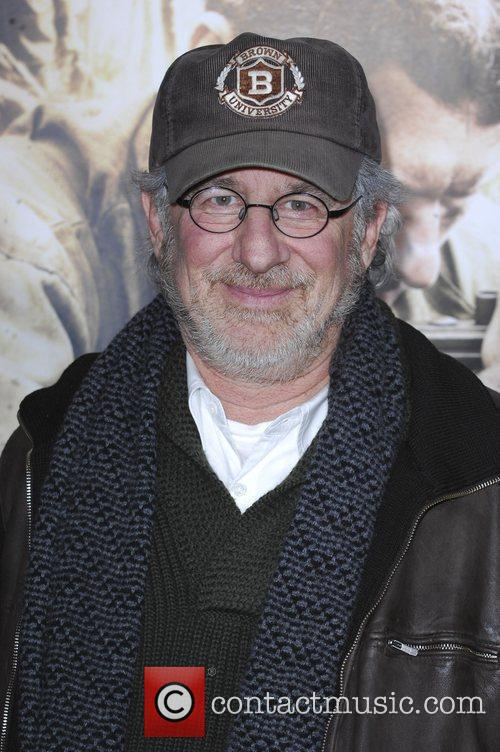 Steven Spielberg Los Angeles Premiere of HBO's new...