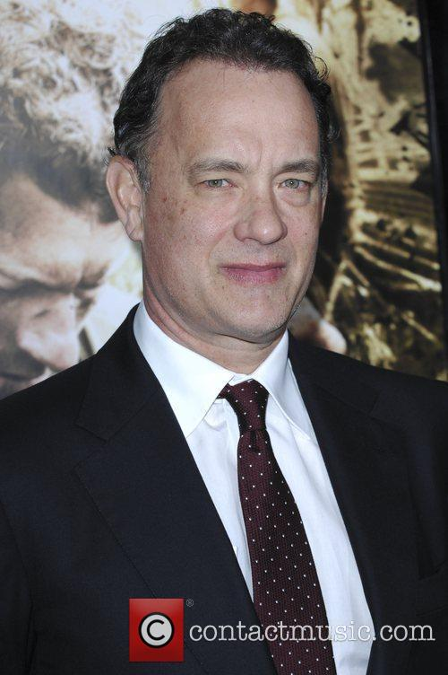Tom Hanks Los Angeles Premiere of HBO's new...