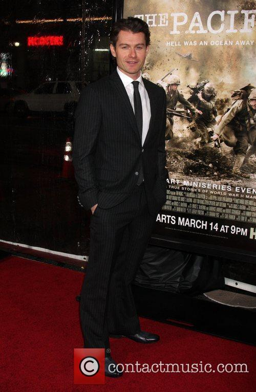 James Badge Dale Los Angeles Premiere of HBO's...
