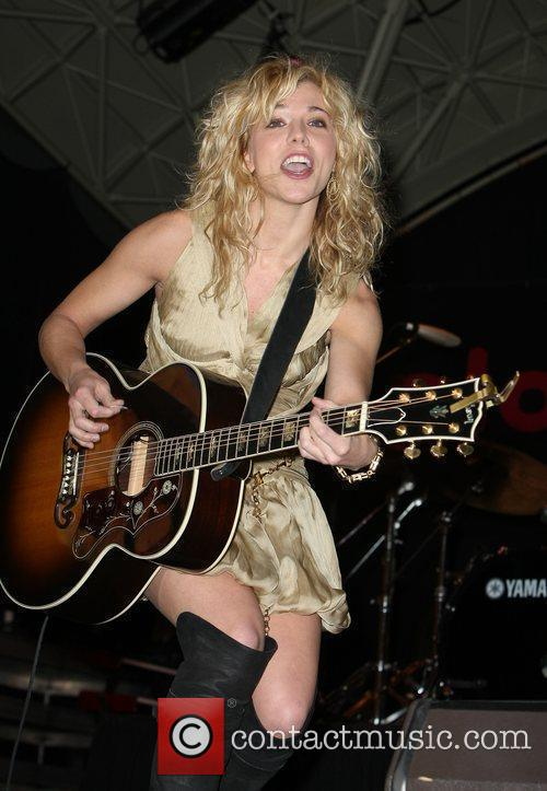 Kimberly Perry of The Band Perry performing at...
