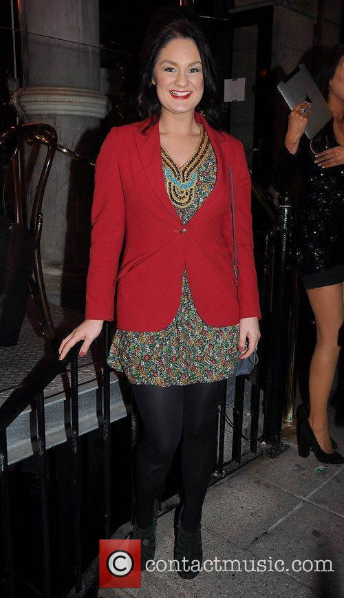 Geraldine O'Callaghan,   arrive at the launch...