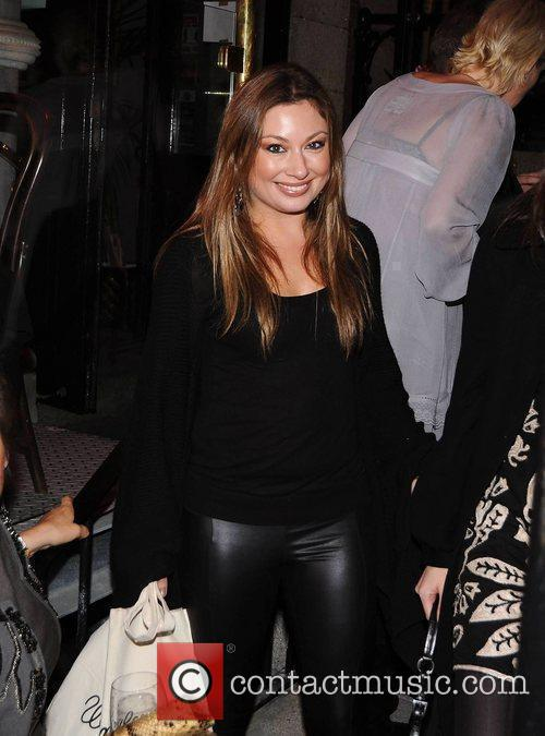 Leigh Arnold,   arrive at the launch...