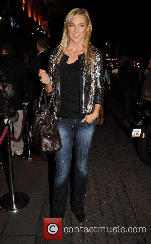 Sarah McGovern,   arrive at the launch...