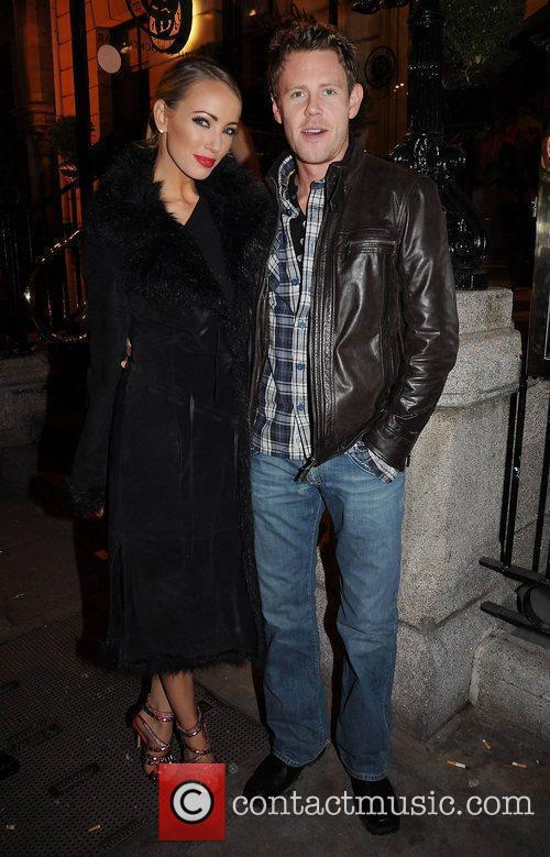 Suzanne McCabe, Rob Buckley,   arrive at...