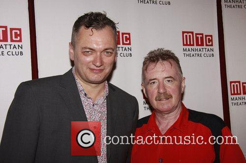 Michael Hodgson and David Whitaker The opening night...