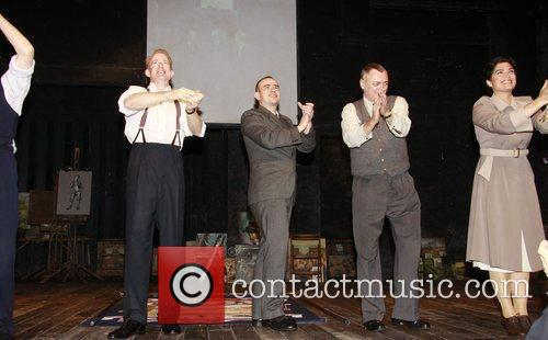 Ian Kelly, Christopher Connel, Michael Hodgson and Phillippa...