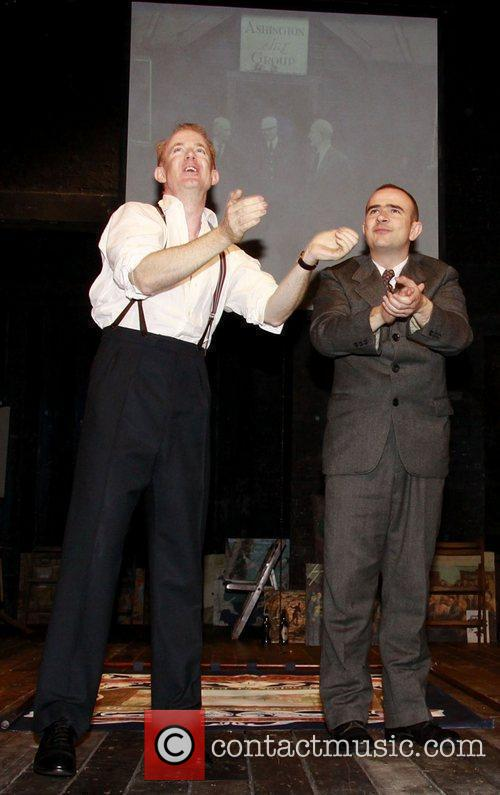 Ian Kelly and Christopher Connel The opening night...