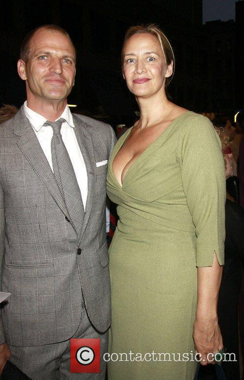 Joe Coleman and Janet McTeer The opening night...