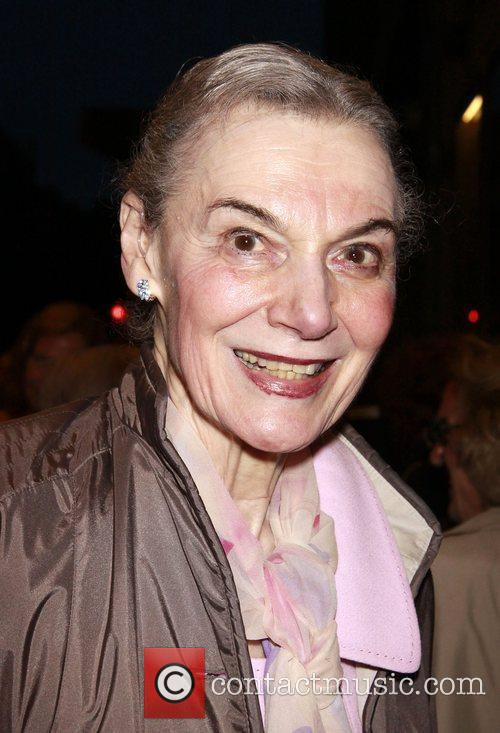 Marian Seldes The opening night of the Broadway...