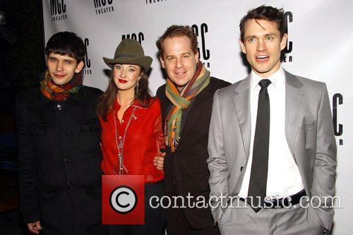 Ben Whishaw, Andrea Riseborough, Adam James and Hugh Dancy