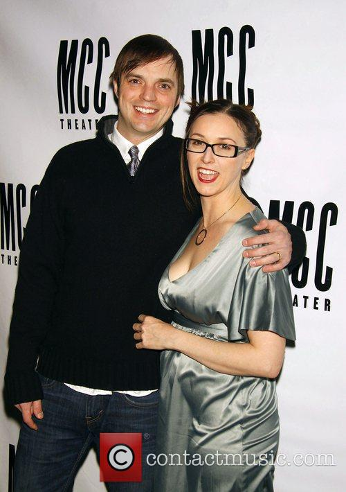 James McMenamin and Jennifer Grace Opening night after...