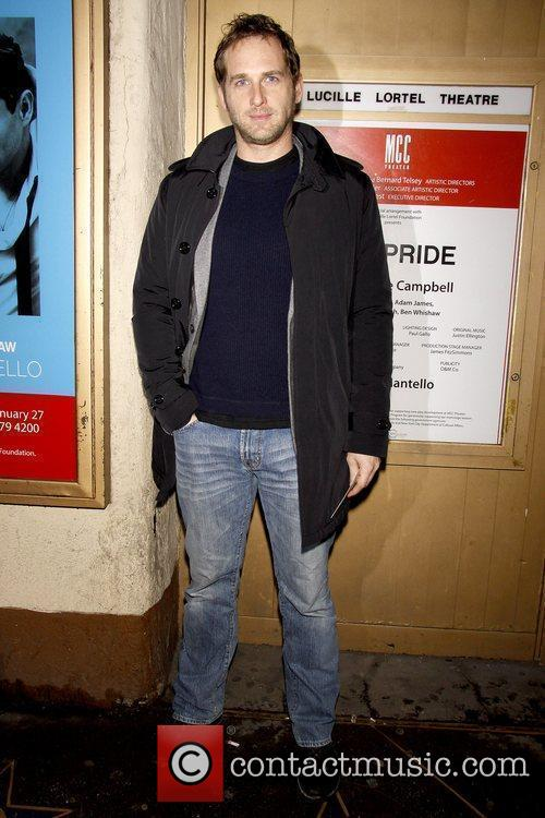 Josh Lucas Opening night of the Off-Broadway play...