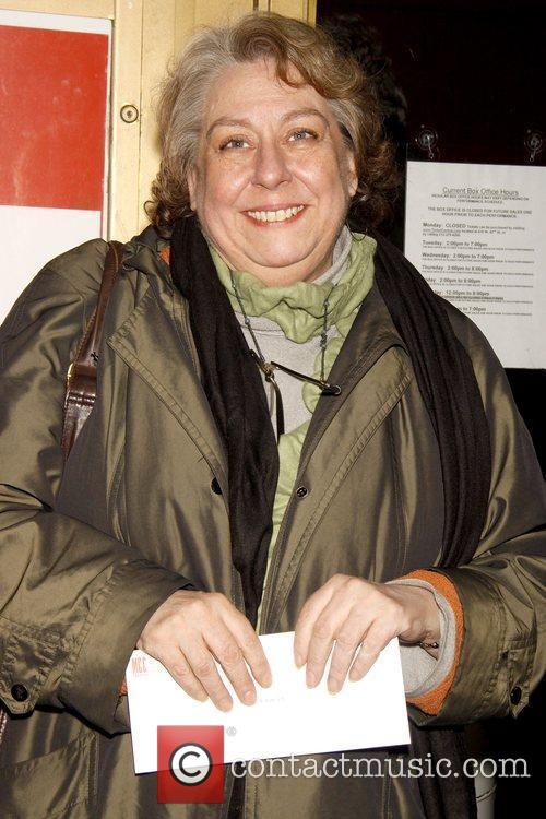 Jayne Houdyshell Opening night of the Off-Broadway play...