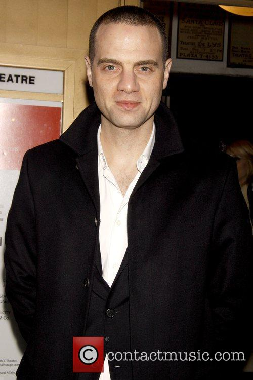 Jordan Roth Opening night of the Off-Broadway play...