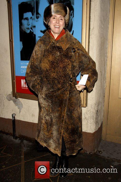 Julie Taymor Opening night of the Off-Broadway play...