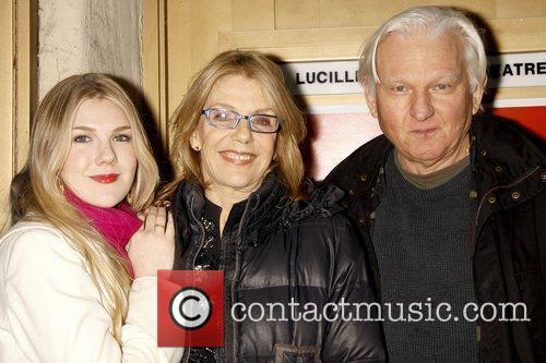 Lily Rabe, Jill Clayburgh and David Rabe Opening...