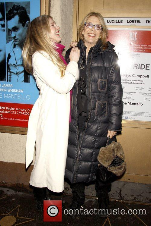 Lily Rabe and Jill Clayburgh Opening night of...