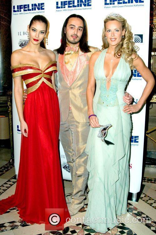 Dayana Mendoza and Heidi Albertsen The Princess Ball...