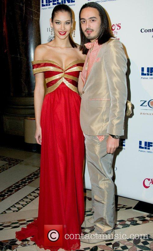 Dayana Mendoza and guest The Princess Ball Mardi...