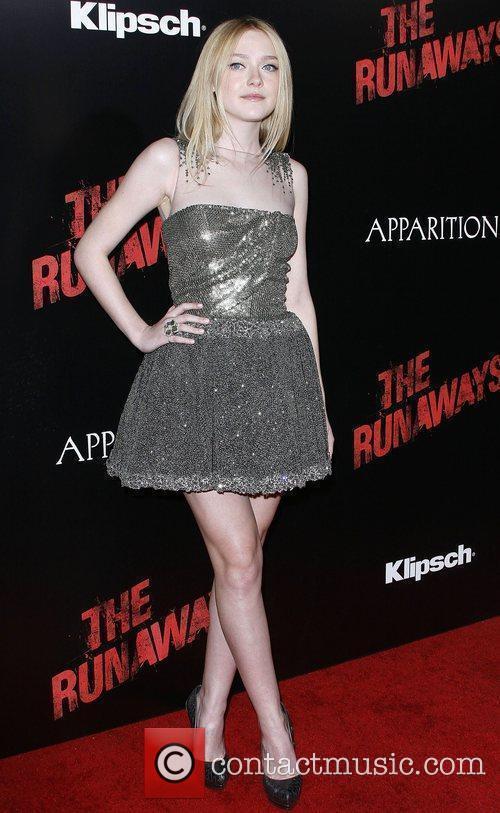 Dakota Fanning Los Angeles Premiere of 'The Runaways'...