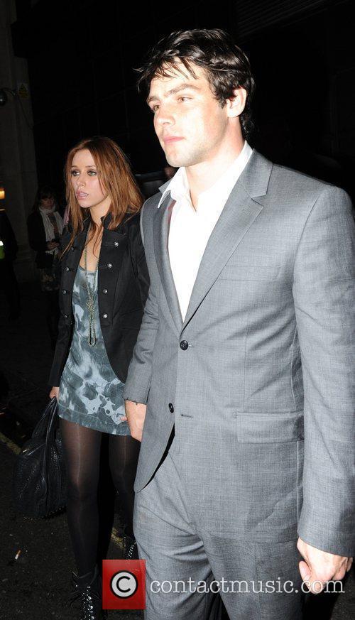 Una Healy and her boyfriend Ben Foden The...