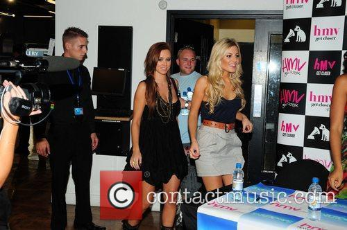 The Saturdays - Una Healy, Mollie King promoting...