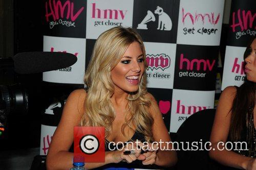 The Saturdays - Mollie King  promoting and...
