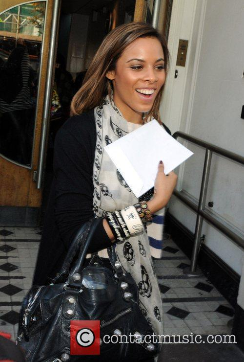 Rochelle Wiseman of The Saturdays leaves the Maida...