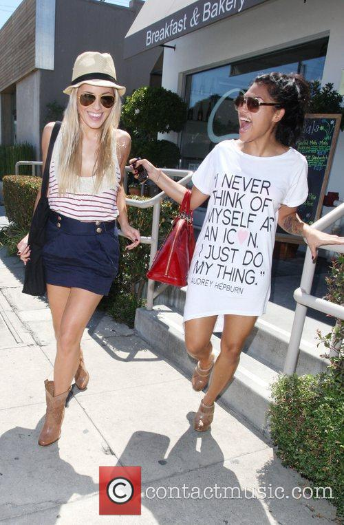 Mollie King and Vanessa White The Saturdays are...