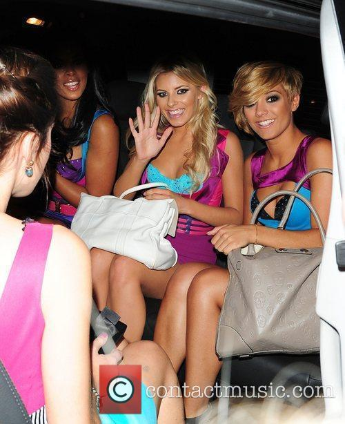 Mollie King, Frankie Sandford and The Saturdays 7