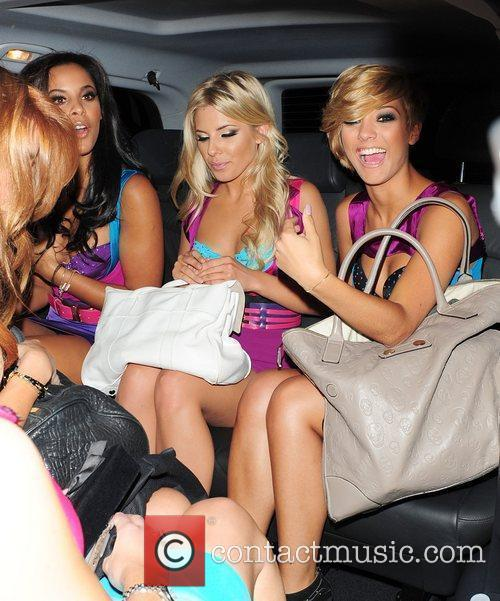 Rochelle Wiseman, Frankie Sandford, Mollie King, The Saturdays