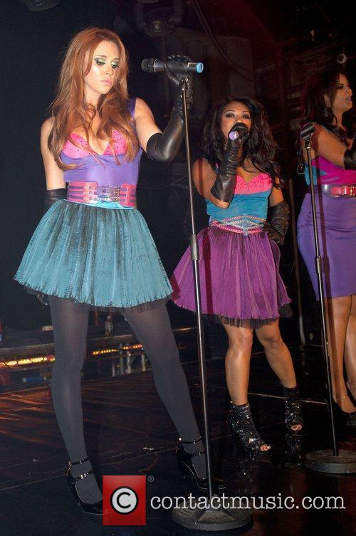 The Saturdays performing at G-A-Y