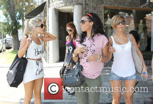 Mollie King, Rochelle Wiseman and The Saturdays 3