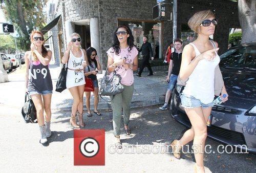 Una Healy, Mollie King, Rochelle Wiseman and The Saturdays 2