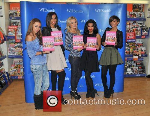 Una Healy, Mollie King, Rochelle Wiseman, The Saturdays and Vanessa White 1