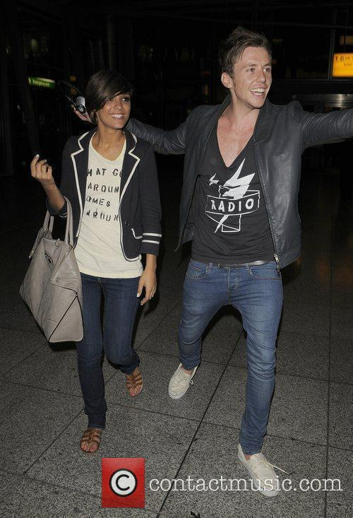 Frankie Sandford, Danny Jones, Mcfly and The Saturdays 8