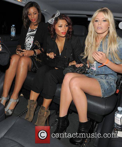 Rochelle Wiseman, Vanessa White and Mollie King from...