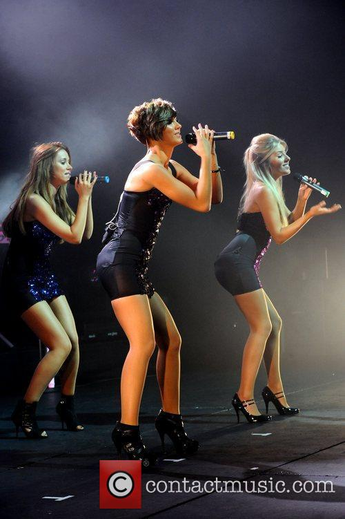 Frankie Sandford, Mollie King, The Saturdays and Una Healy 1
