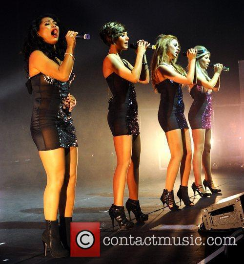 Vanessa White, Frankie Sandford, Mollie King, The Saturdays and Una Healy 2
