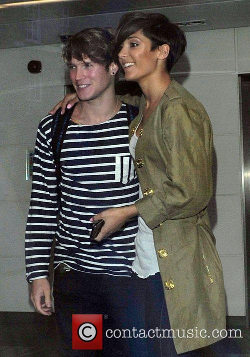 Frankie Sandford, Dougie Poynter and The Saturdays 9