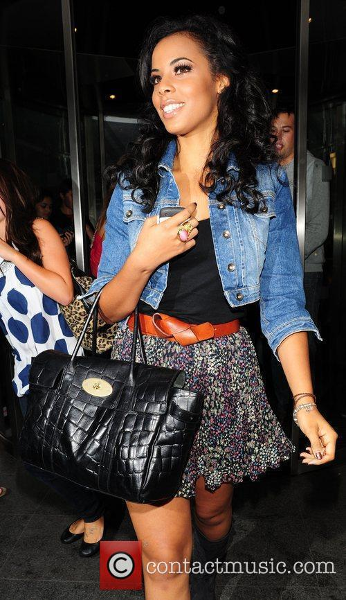 Rochelle Wiseman  'The Saturdays' out and about...