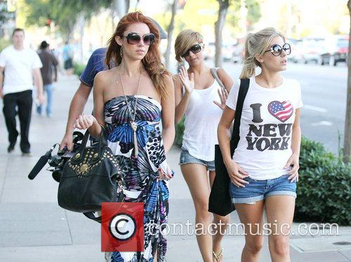 Una Healy, Mollie King and The Saturdays 1